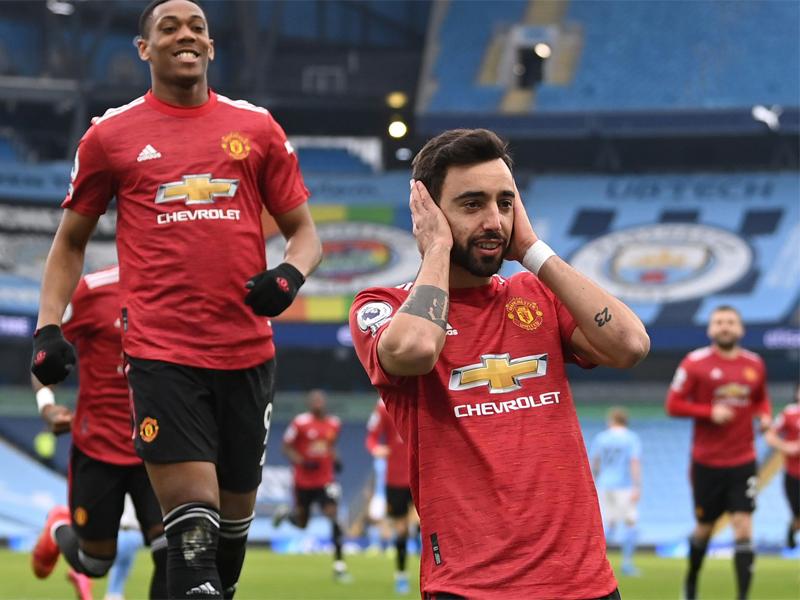 Man City 0-2 Man Utd