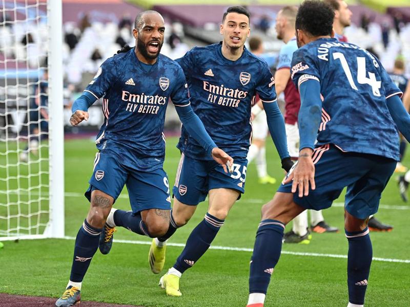 West Ham United 3-3 Arsenal