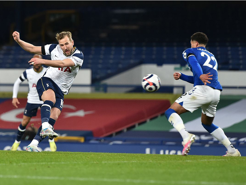 Everton 2-2 Tottenham
