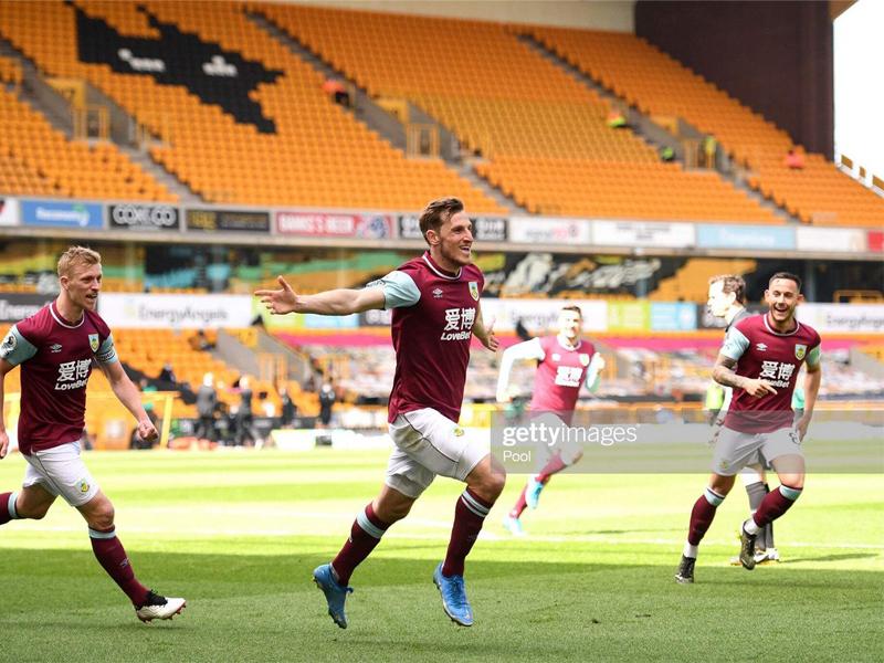 Wolverhampton Wanderers 0-4 Burnley