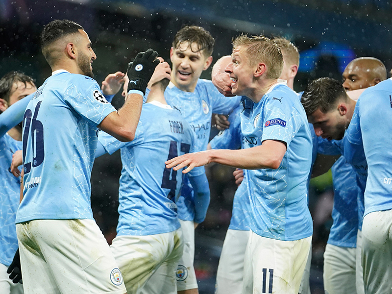 Manchester City make history to win Premier League title