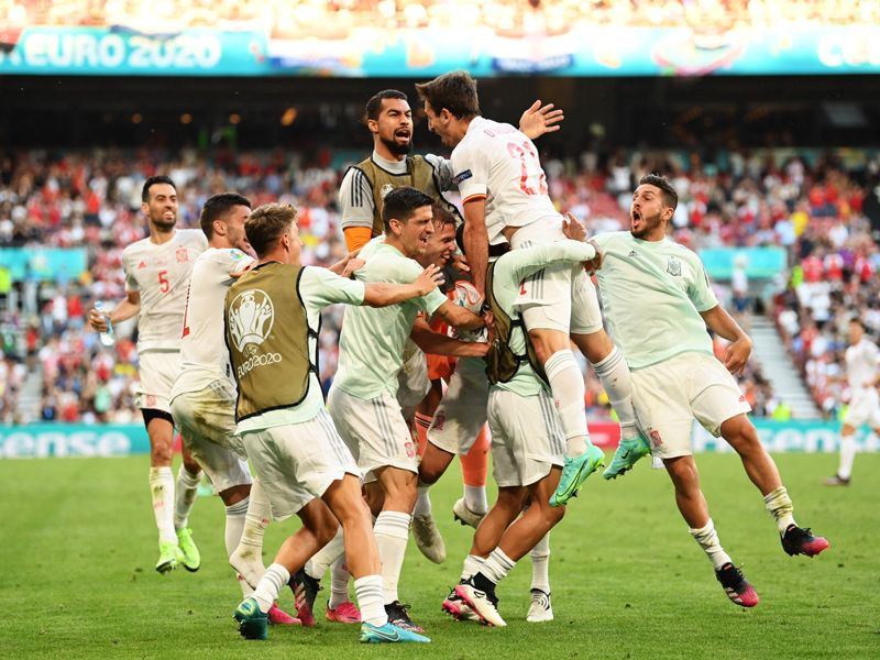 Spain reached the quarter-finals of Euro 2020 in dramatic fashion by beating Croatia in extra time after an eight-goal thriller