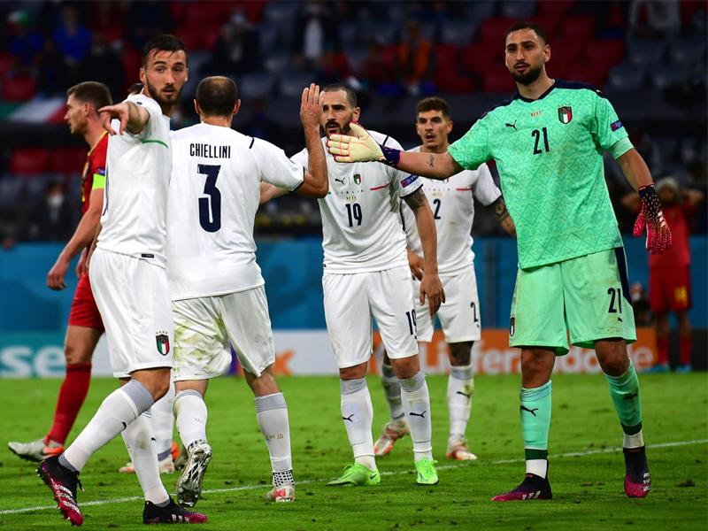Belgium 1-2 Italy