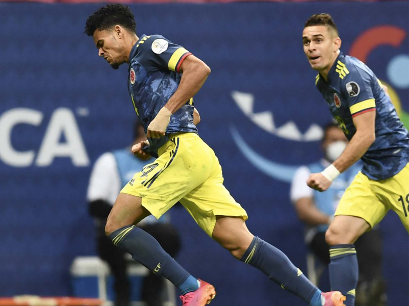 Colombia forward Luis Diaz scored a stunning 25-yard injury-time winner to help his country beat Peru 3-2 in their Copa America third-place play-off