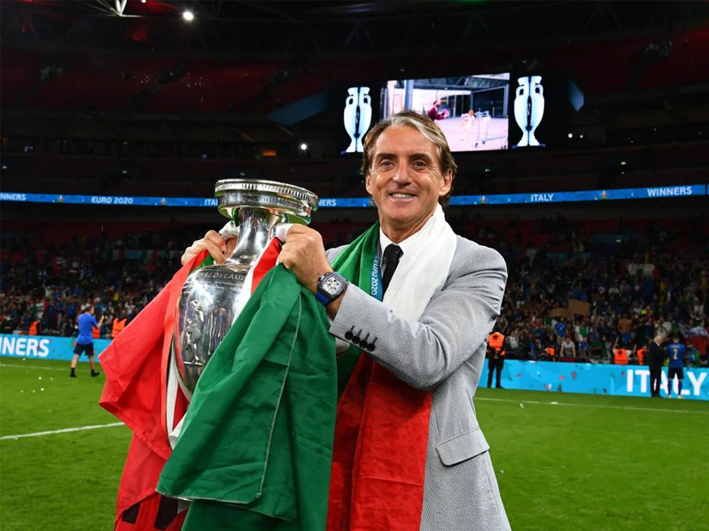 Euro 2020 final Italy manager Roberto Mancini says 'I was due this'