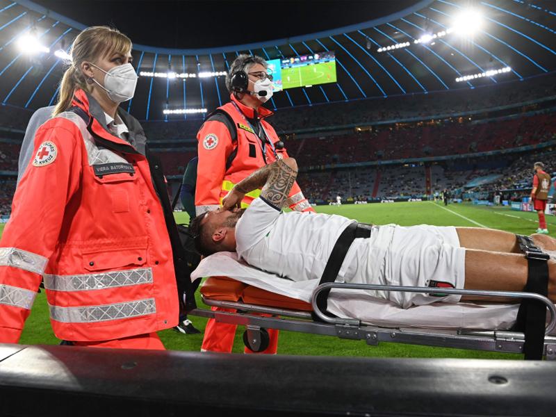 Italy's Leonardo Spinazzola undergoes Achilles operation