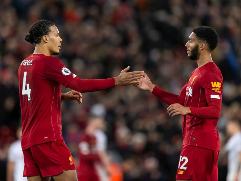 Virgil Van Dijk and Joe Gomez return from injury for Liverpool