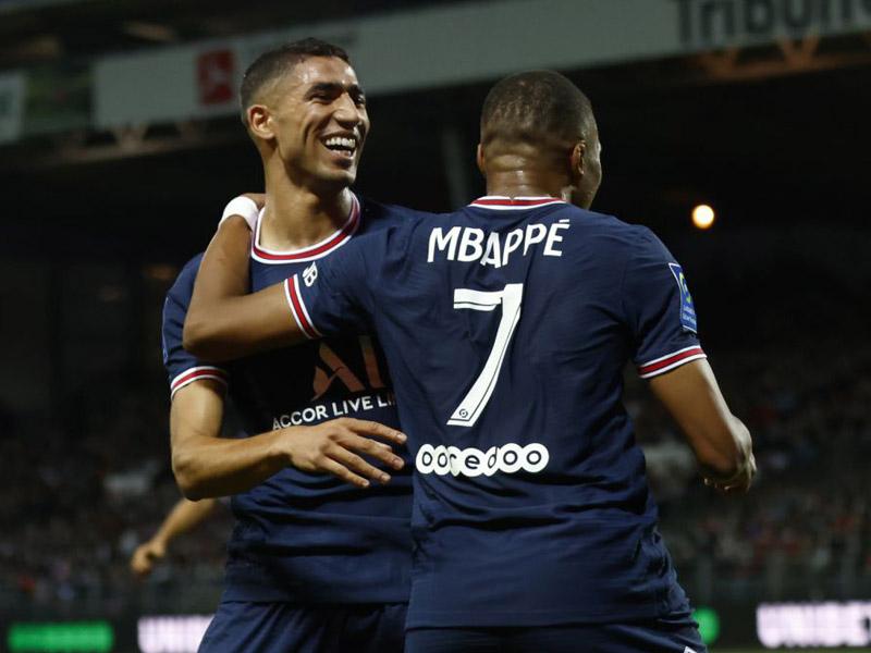 Brest 2-4 Paris St-Germain