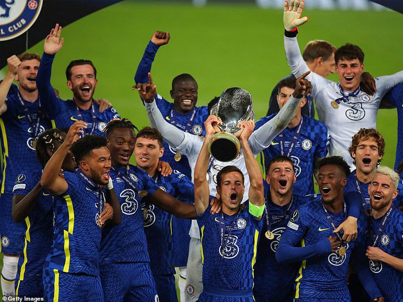 Chelsea beat Villarreal 6-5 in a penalty shootout to lift the Uefa Super Cup for a second time after a draining 120 minutes in Belfast