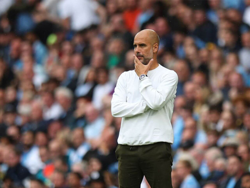 Manchester City Pep Guardiola says he will leave club when his contract expires in 2023 1