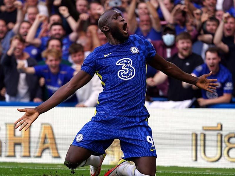 Chelsea striker Romelu Lukaku said scoring at Stamford Bridge is something he has dreamed about since he was a child, after netting twice in Chelsea's win over Aston Villa