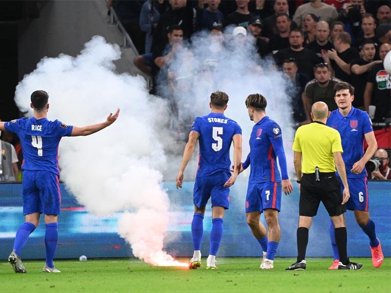 Hungary v England Fifa investigating racial abuse aimed at players at Puskas Arena