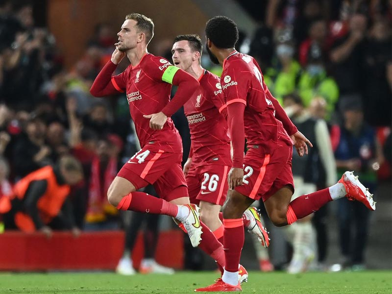 Liverpool had to come from behind to win a Champions League thriller against AC Milan at Anfield